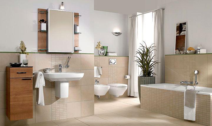 Làm gì cho phòng vệ sinh thoáng hơn với diện tích hẹp