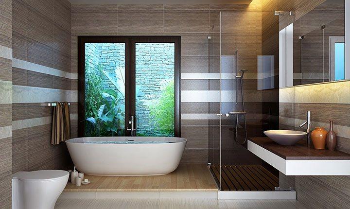 Lắp vòi rửa vào phòng vệ sinh