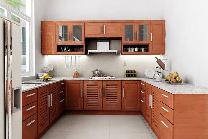 sắp xếp căn bếp