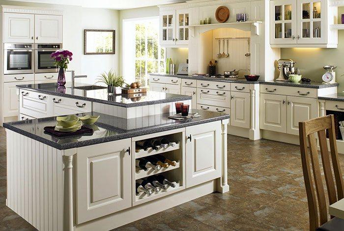 Phòng bếp thiết kế ứng dụng cao