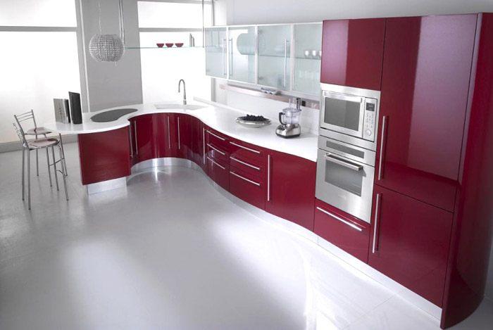 mẫu tủ bếp