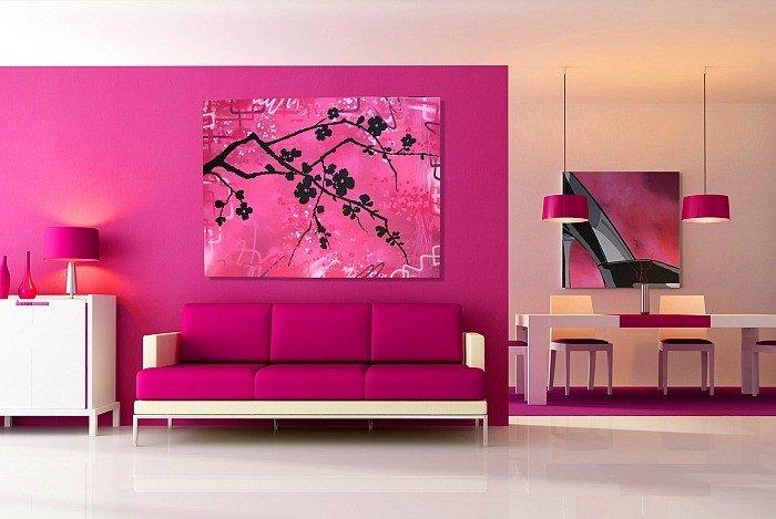 trang trí tường nhà
