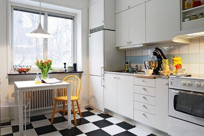 Thiết kế phòng bếp hẹp