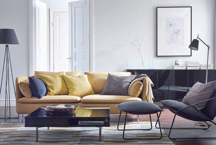 trang trí ghế sofa
