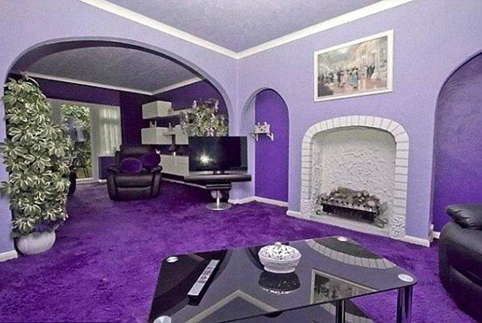 Màu sắc phòng khách