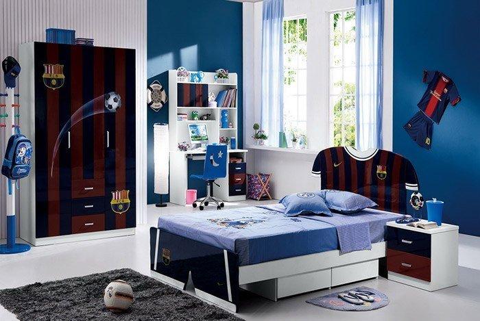phòng ngủ bé trai