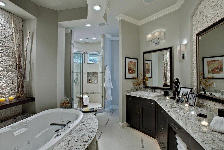 Cải tạo phòng tắm chật hẹp