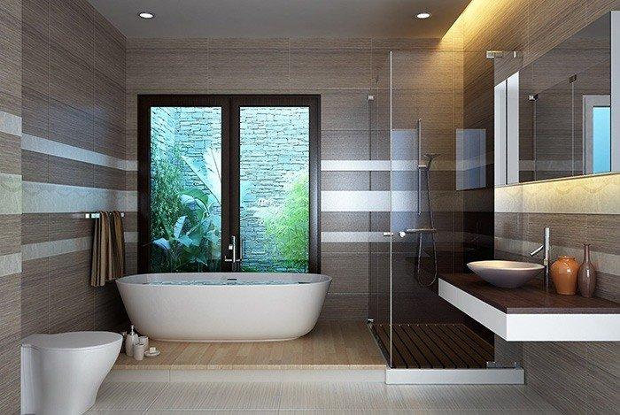 Phòng tắm ngoài trời