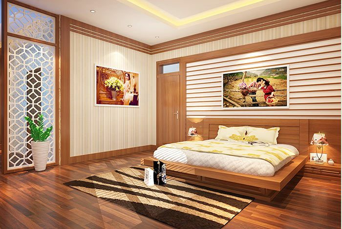 Trang trí giường ngủ