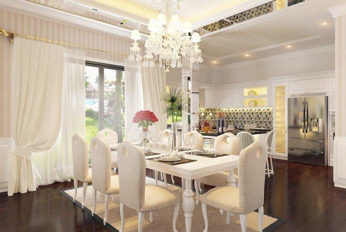 Mẫu phòng ăn đẹp