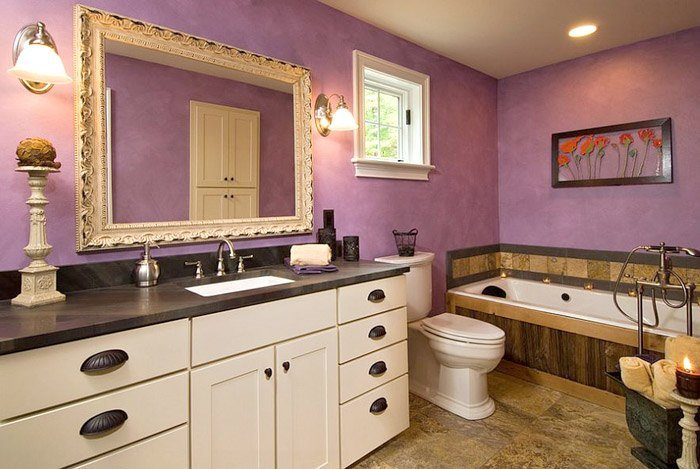 phong cách phòng tắm