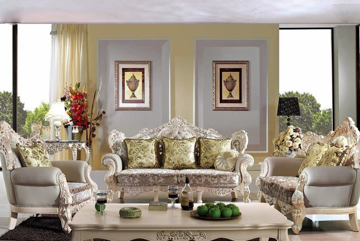 sofa tân cổ điển