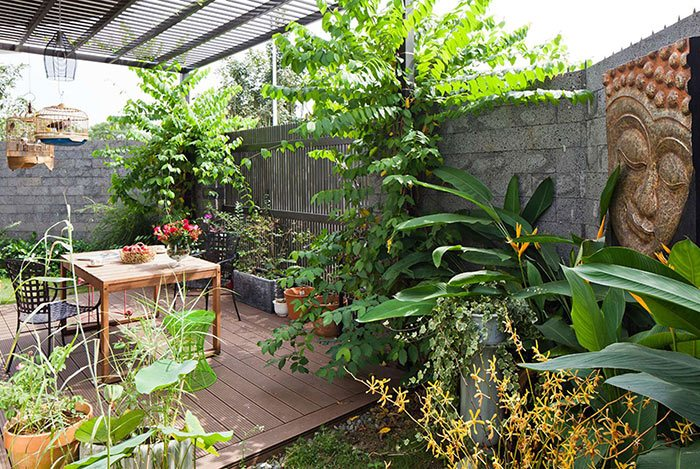Sân vườn nhà đẹp